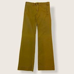 Anthropologie Paper Boy Wide Leg Tan Trousers